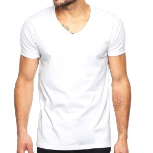 patrón de playera básica slim fit